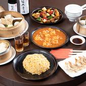 地元産の「野菜」、県内産の「豚肉」を使用したこだわり中華