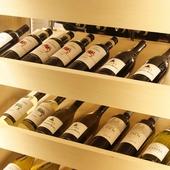 ボトルワインも豊富に準備