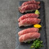 肉寿司盛りあわせ