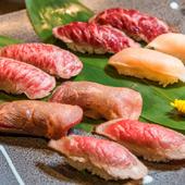 贅沢肉寿司盛り合わせ