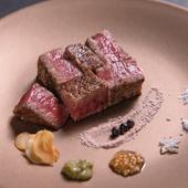 噛みしめる度にあふれ出す肉汁や香り『本日のA5和牛ステーキ』