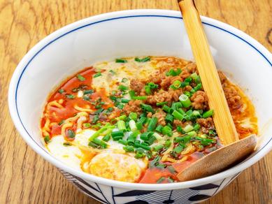 自家製ラー油が香る、上品な味わいの『担々麺』