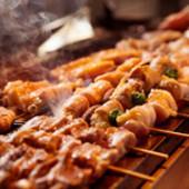 日替わり串焼き五種盛り