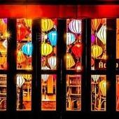 古都ホイアンのランタン灯るカラフルな装飾
