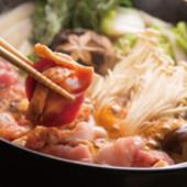 名物『鶏すき鍋』
