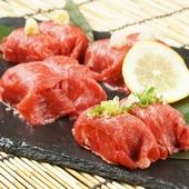 国産黒毛和牛の肉寿司