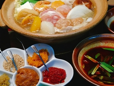 7つの味のちゃんこ鍋『味変ちゃんこ鍋』