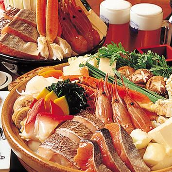 【女性グループ割】ちゃんこ鍋orすき焼orしゃぶしゃぶ2H食べ放題