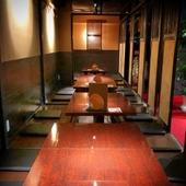 和を基調とした個室