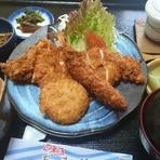 ミックスフライ定食  (1日15食限定)