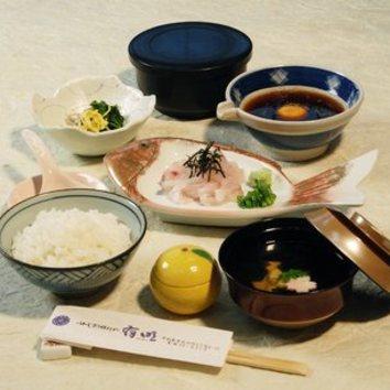 宇和島鯛めし定食 <1620円>