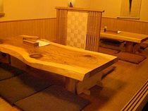 座敷、個室、テーブル完備