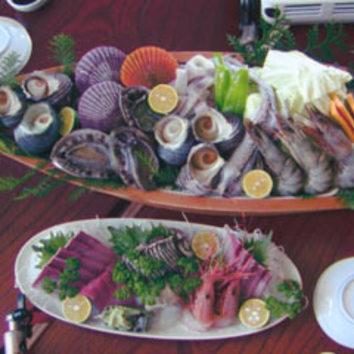 贅沢活魚料理! 懐石コース