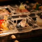 福島の特別純米・飛露喜950円。さっぱり系料理と合う辛口タイプ