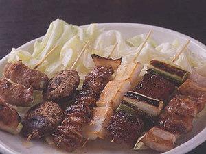 串焼きは1本130円~