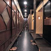 3Fの部屋ごとに違う隠れ家的個室10室