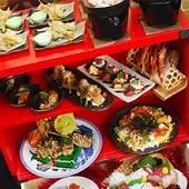 ボリューム満点な飲み放題付き「味噌海鮮大漁鍋」コース4500円