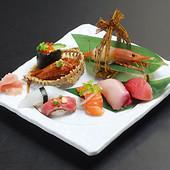 握り市 寿司盛り合わせ8種 1580円