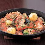 野菜もたっぷり京北町豚肩ロースのロティ2700円