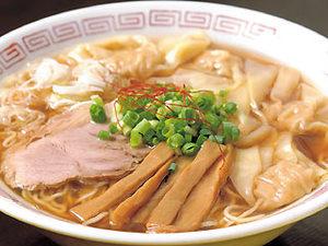 魚系醤油ワンタンメン