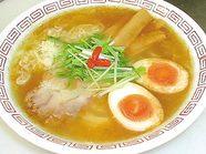 柚子香油ラーメン煮卵入り