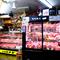 入口に置かれたショーケースには厳選された肉が並んでいます
