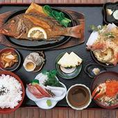 地魚バター焼き御膳 1785円