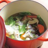 明石産もみぢ鯛のココットスープ仕立て2200円