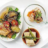 野菜の濃い味を生かすべく、の野菜と鶏肉の甘酢あんかけ