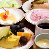 食後に欠かせないデザート類も充実。手作りプリンが一番人気