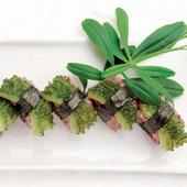 県産野菜を寿司にアレンジ