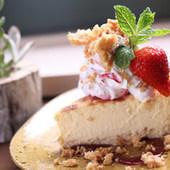 クランブルチーズケーキ470円