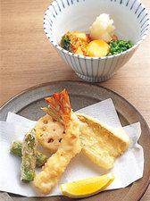 「季節の天ぷら※料金は仕入れにより異なる」