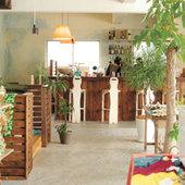 北中城村にあるかわいいカフェ