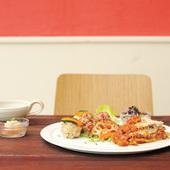 島豆腐のホワイトソースのラザニア(1500円)