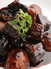 皮付き豚肉醤油煮
