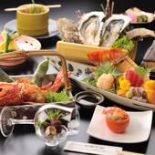 旬の素材をふんだんに使った料理の数々を、ご賞味ください。