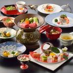 本格和食の宴会向け会席料理をご予算、人数に合わせてご用意