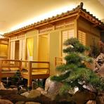 高級旅館のような上質でお洒落な空間はさまざまなシーンで活躍