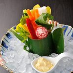 海鮮天ぷら盛合せ