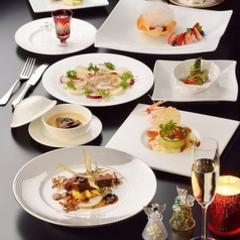 厳選された宮城の食材をふんだんに盛り込んだ豪華コース