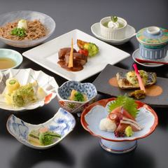 旬魚・旬彩満載コースです!各種宴会、御会合、飲み会などにお勧めです。