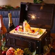 誕生日月特典が満載。アニバーサリーコースも人気!