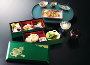 前菜/揚物/焼物/お造り/御飯/香乃物/お椀/佃煮/季節のアイス