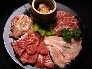 """""""いろんなお肉をたっぷり!"""" 『チャンピオンセット』"""
