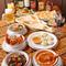 20種類以上の本格インド料理が食べ放題!
