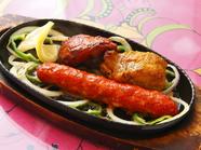 人気のタンドール料理3つが楽しめる『ミニミックスグリル』