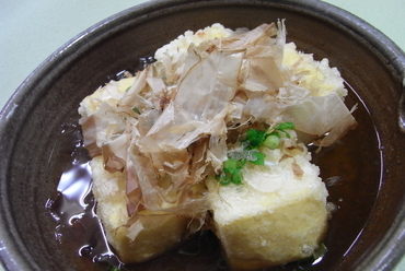 じゃこの揚げ出汁豆腐