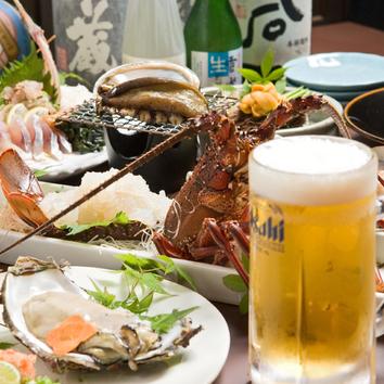 「季節のひょうたん島 全9品コース」 3240円