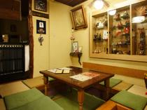 人気の掘りごたつ式の和室